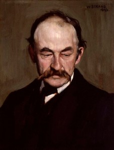 NPG 2929,Thomas Hardy,by William Strang